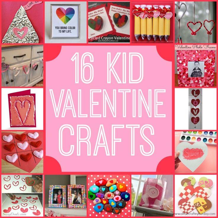 16 Valentine Kid Crafts