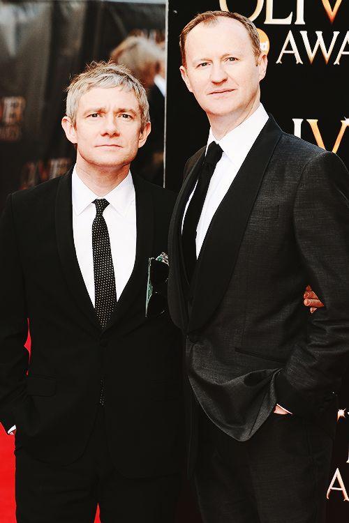 Martin and Mark: British dapper gentlemen.