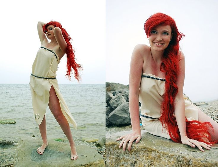 Ariel in denim 1 by ~Usagi-Tsukino-krv on deviantART; Costumes & Cosplay
