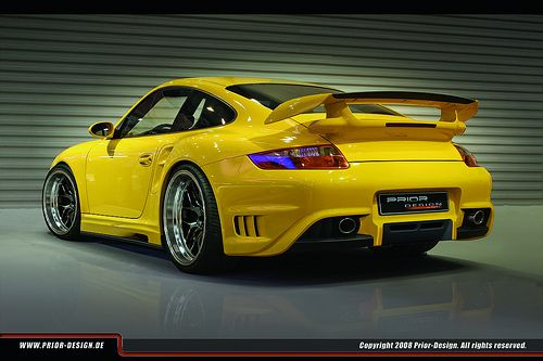 i wish i had this prior design porsche gt2 aerodynamic kit. Black Bedroom Furniture Sets. Home Design Ideas