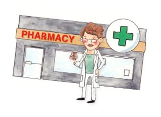 pharmacy flash card