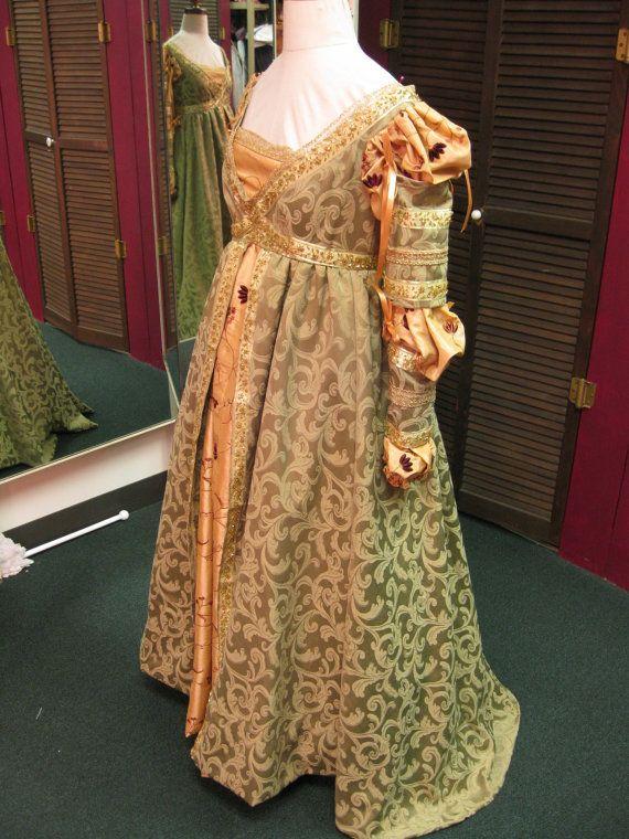 "Fantasy Renaissance Medieval Madrigal ""Ever After"" Dress - Made to Order"