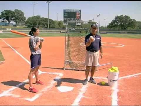 ▶ Toss Drills - Basics of Softball Hitting - YouTube