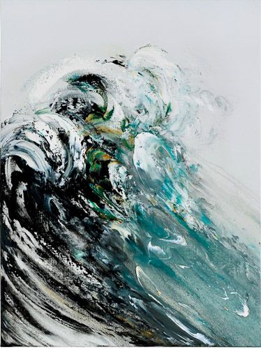 waves oil on canvas - Google Search