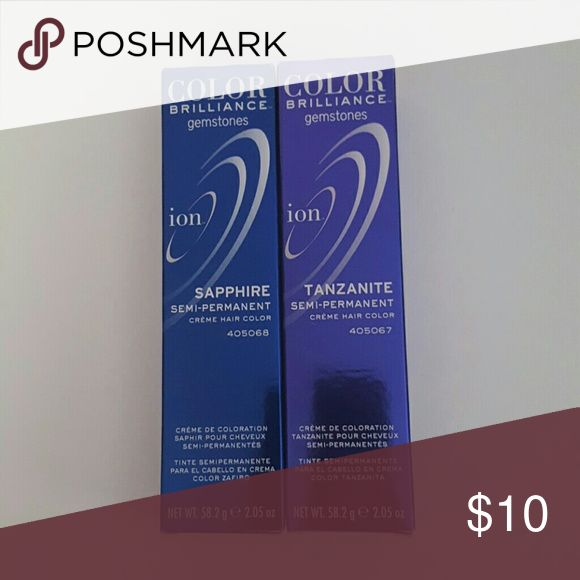 Hair Dye Tanzanite Ion Color Brilliance