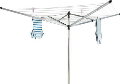 Buy Brabantia 60m Outdoor Life-O-Matic Rotary Airer with Cover at Argos.co.uk, visit Argos.co.uk to shop online for Washing lines and airers