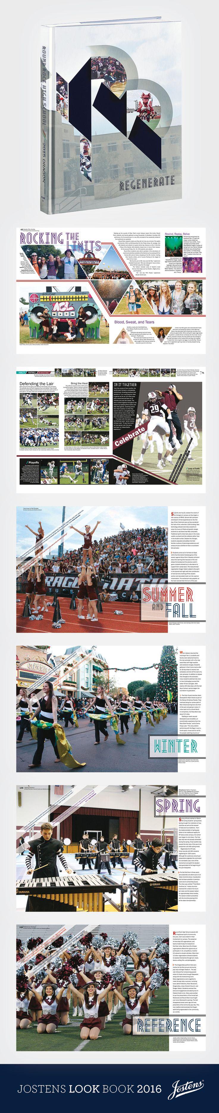 // DRAGON, Round Rock High School, Round Rock [TX] #Jostens #LookBook2016…