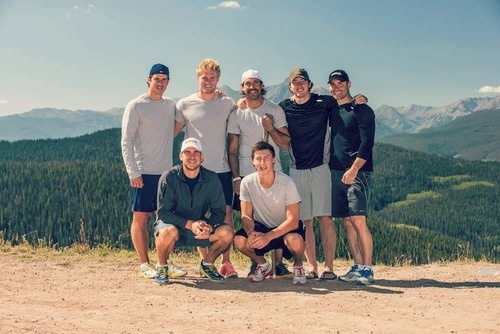 Sidney Crosby, Gabriel Landeskog, Max Talbot, Matt Duchene, John Tavares, and Ryan Nugent-Hopkins training in Colorado!