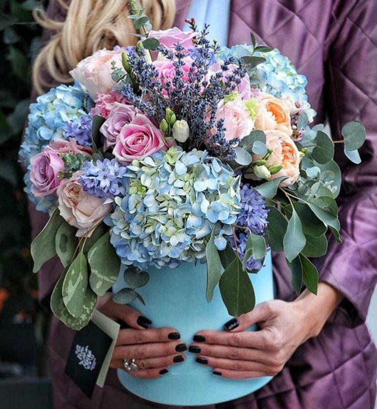 Цветочный магазин стильных букетов