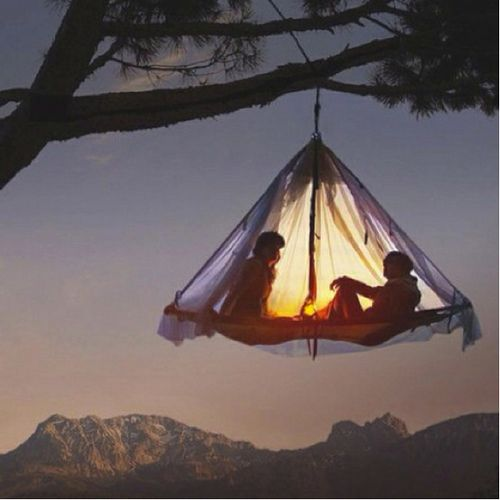 tent: Camping Tents Treehouse, Trees Tent, Trees Houses, Tree Houses, Wanderlust Travel, Hanging Tent, Favorite Daydream, Be Awesome, Trees Camps