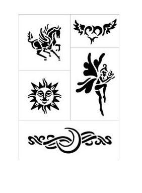 how to make a tattoo stencil with deodorant