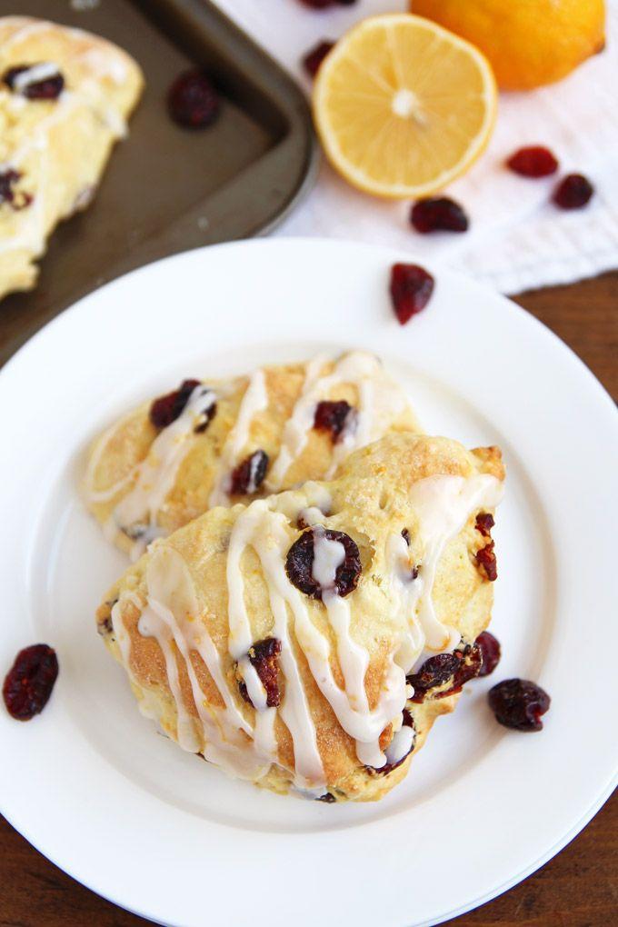 meyer lemon cranberry scones cranberry scones cream scones sweet ...