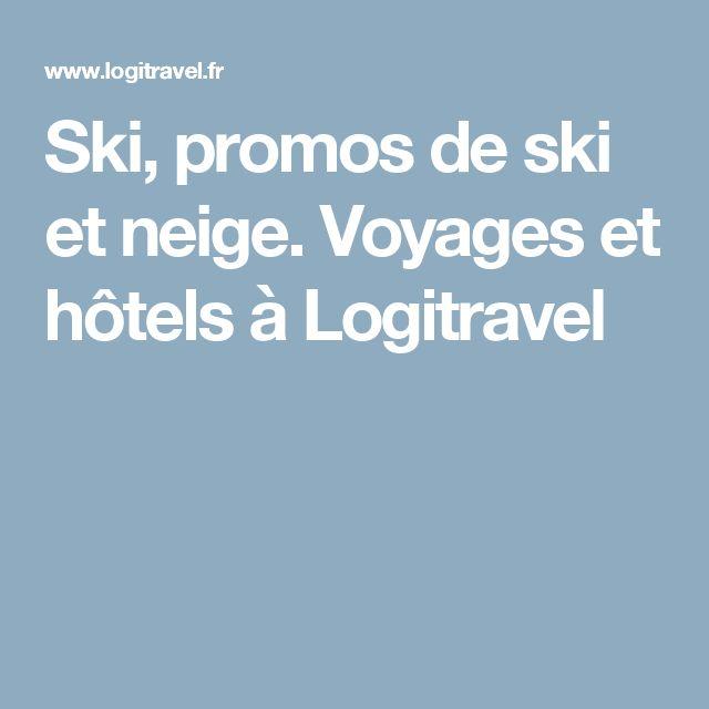 Ski, promos de ski et neige. Voyages et hôtels à Logitravel