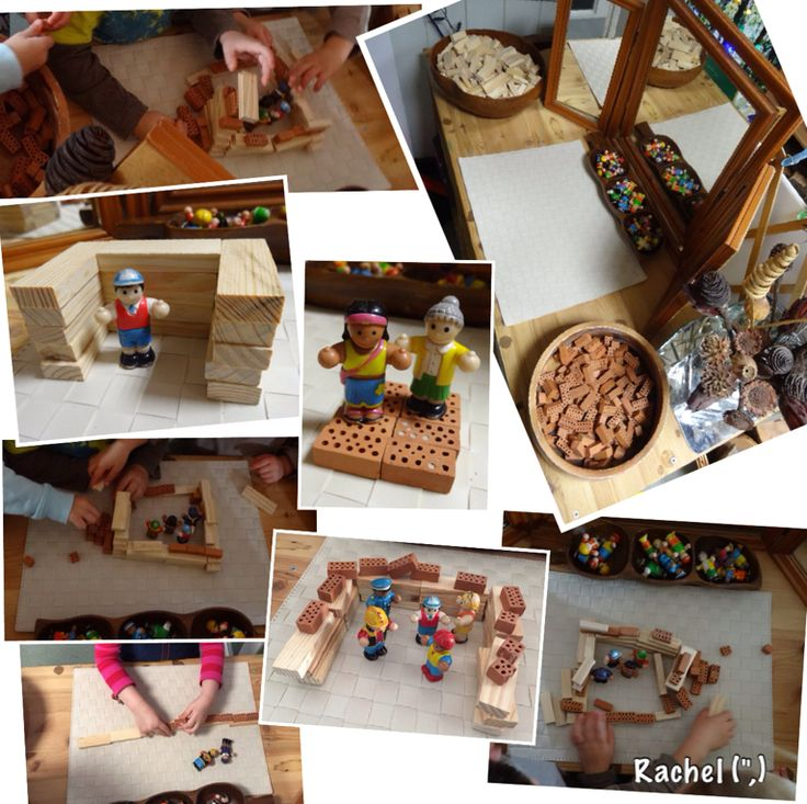 """Building for families and friends... from Rachel ("""",)"""