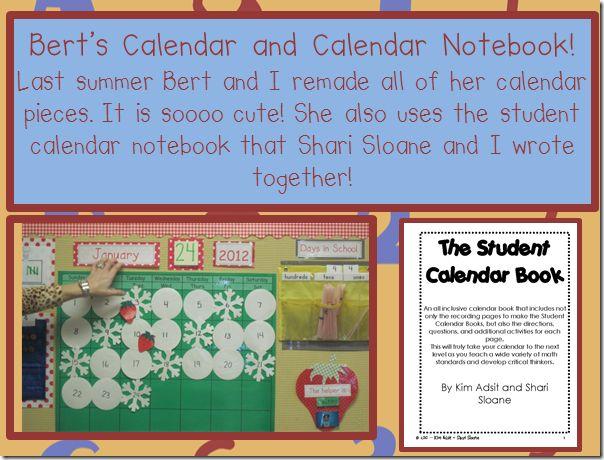 KinderGals: Calendar Time!