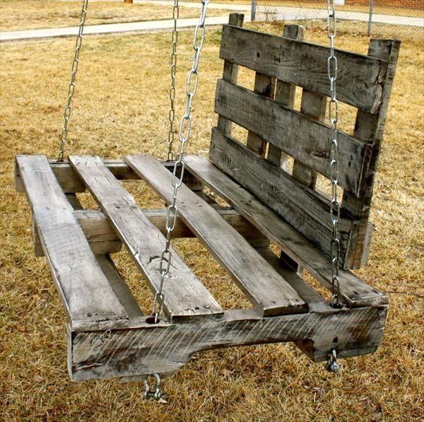 29 Inviting Pallet Swing Ideas Pallet Swing Pallet Diy Wood