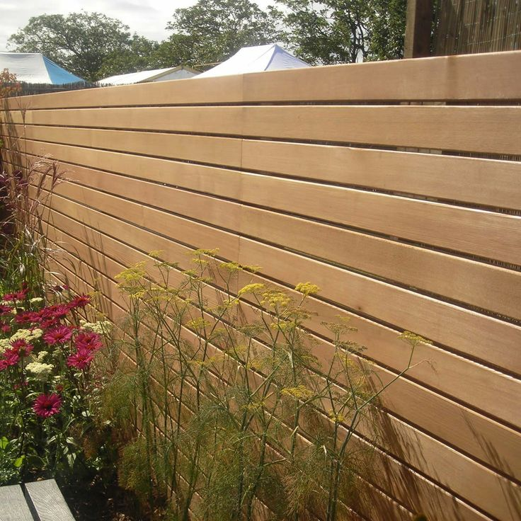 Western Red Cedar Slatted Screen Boards 19 x 94mm