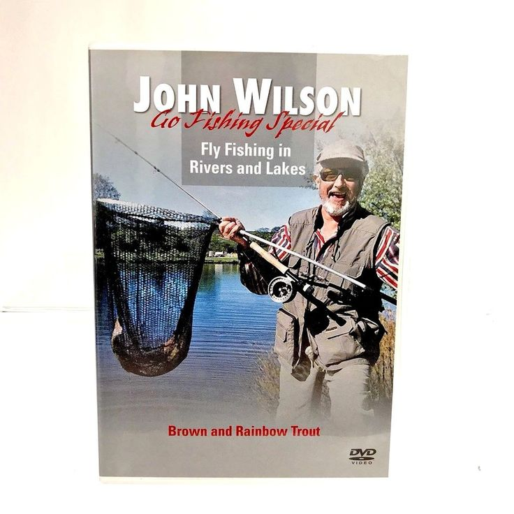 John Wilson Go Fishing Special Fly Fishing In Rivers & Lakes Brown Rainbow trout
