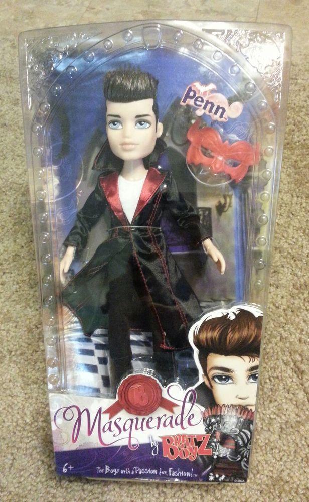 NIB Bratz Boyz PENN Doll Masquerade Boy Vampire Rare New ...