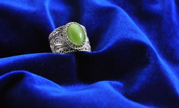 Green Traditional Silver Filigree www.silverfiligree.tumblr.com