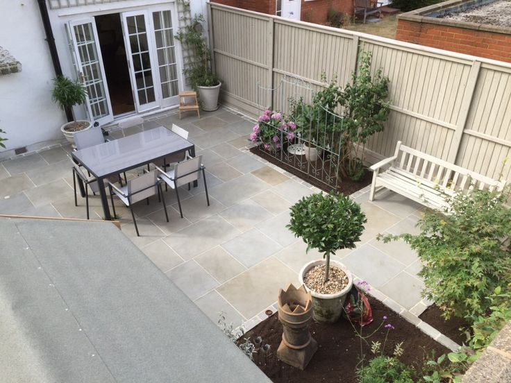17 best images about sawn paving patio ideas on pinterest for Paving ideas for small courtyards