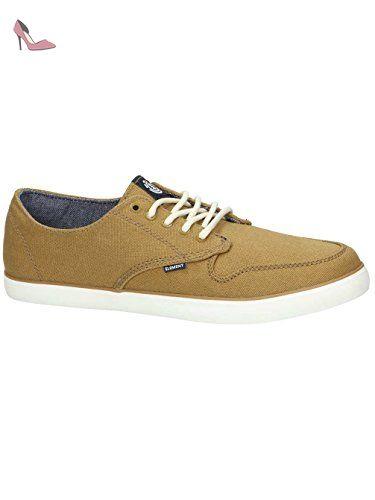 Element , Baskets pour homme jaune jaune - marron - curry, - Chaussures elment (*Partner-Link)