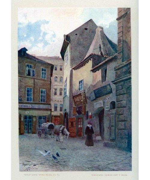 Jansa - Kozna street, Jewish Town, Prague