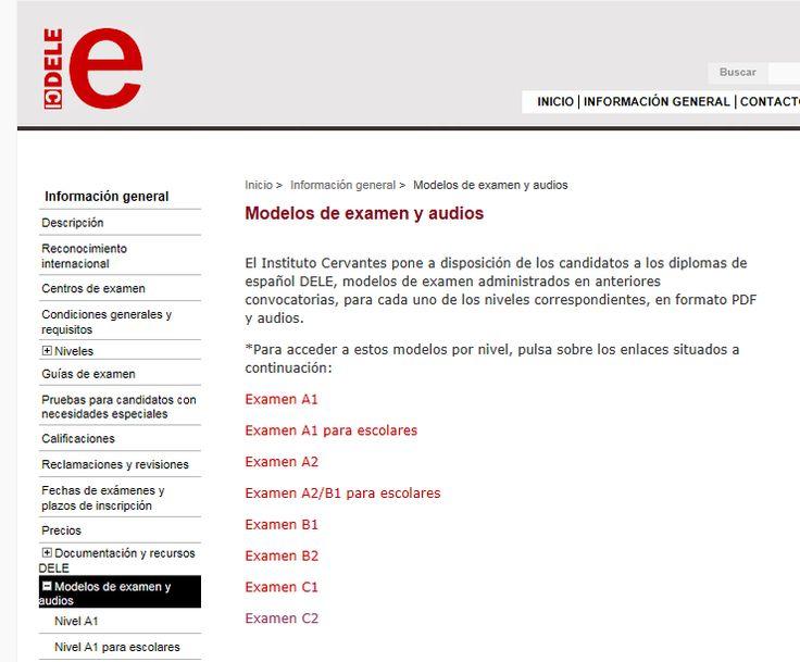 Modelos del examen DELE C1 (Instituto Cervantes) #DELE #ELE