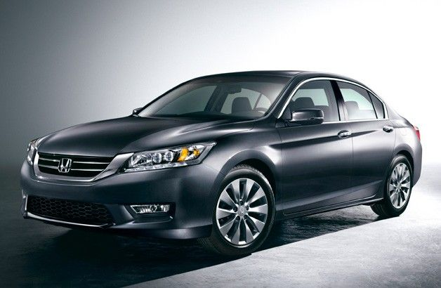 2013 Honda Accord: First official images released