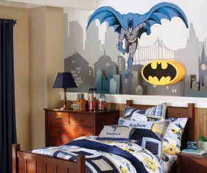 Beauty  Batman Theme Wall Decor For Your Kid's Bed room
