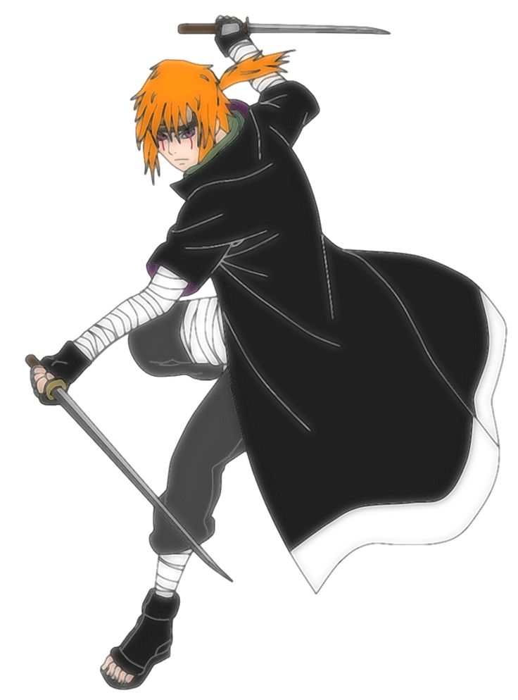 Naruto OC - Daisuke Hitokiri by SupremeDark on DeviantArt