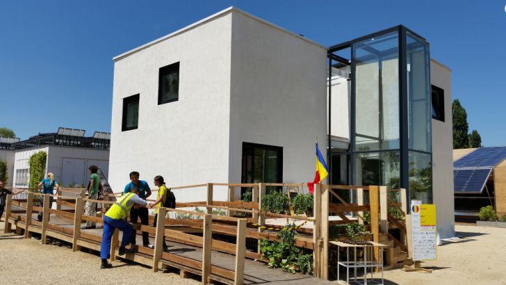 Prima locuinţă solară, 100% electrică, poate fi vizitată în Bucureşti
