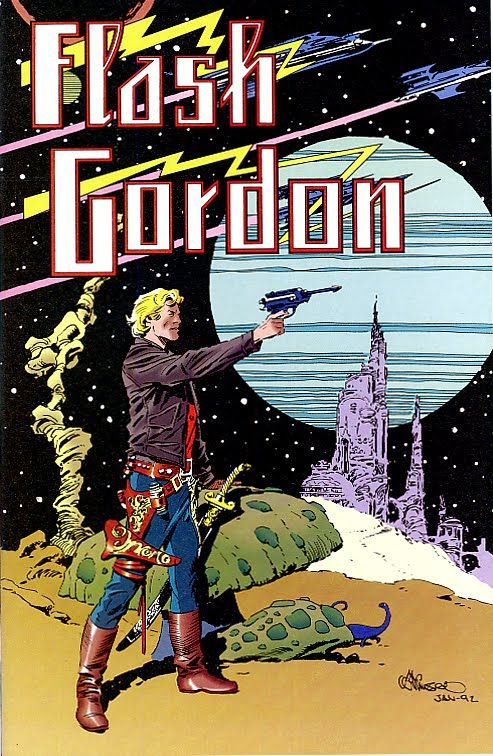 The ultimate Raygun story: Flash Gordon (Al Williamson)