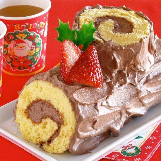 5-Ingredient Bûche de Noël