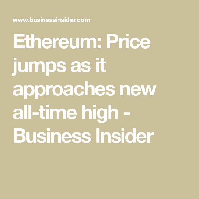 9 best bitcoin investments images on pinterest buy bitcoin ethereum price jumps again as it approaches a new all time high ccuart Image collections