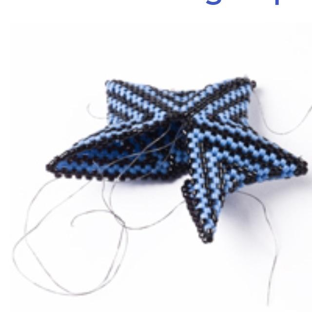 Détail étoile peyote