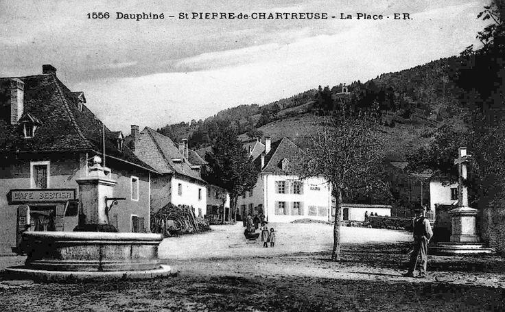 Place du village st pierre de chartreuse chartreuse - Office du tourisme st pierre de chartreuse ...