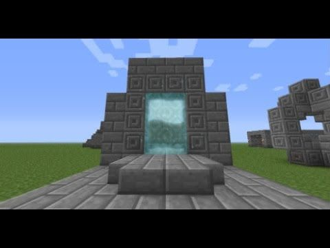 How to make a Stone Portal Minecraft PS3/PS4/XBOX 360/XBOX ONE - YouTube