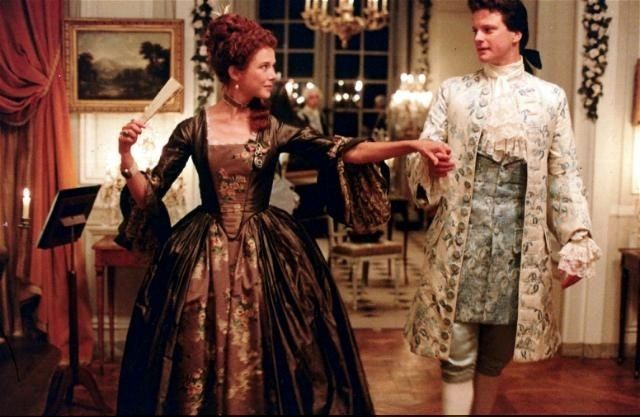 VALMONT (1989) Film Annette Bening, Colin Firth.