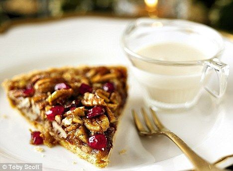 Cranberry Pecan Pie!  Oh My!!