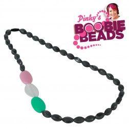 Pinky's Boobie Beads - Charcoal