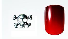 FF Nail Art Kit Κόσμημα A, Νο 14 (2 Τεμ.) Κοσμήματα Nail Art για μοναδικά nail design. Είναι κατάλληλα για τεχνητά νύχια (ακρυλικό και gel) καθώς και για σχέδια σε μόνιμο βερνίκι. Το νύχι της φωτογραφίας είναι ενδεικτικό για να κατανοήσετε το μέγεθος του κοσμήματος και αντιστοιχεί σε ένα μεσαίο γυναικείο νύχι (δείκτης ή παράμεσος) μικρού μήκους. Αναλογία σε tip: 6-7 νούμερο. Τιμή €3.00