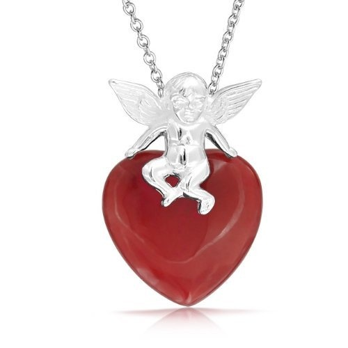 925 Sterling Silver Cupid Gemstone Red Jade Heart Pendant by Bling Jewelry, http://www.amazon.co.uk/dp/B00A3E12WS/ref=cm_sw_r_pi_dp_Yc.crb1Z1165C