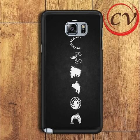Game Of Thrones Samsung Galaxy Note 7 Case
