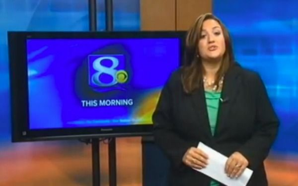 A local TV anchor countered a letter by a viewer calling her fat with an amazing anti-bullying tirade.