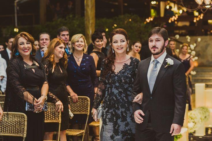 Entrada do noivo - Casamento moderno