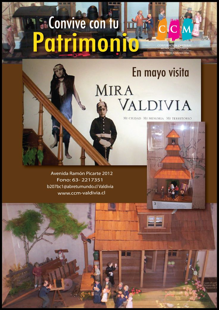 "En Mayo visita ""Mira Valdivia"""
