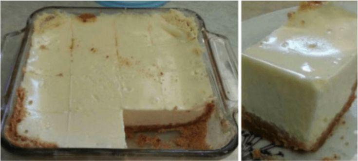 Stačí len 10 minút na tento koláč z troch prísad. Vyskúšajte!