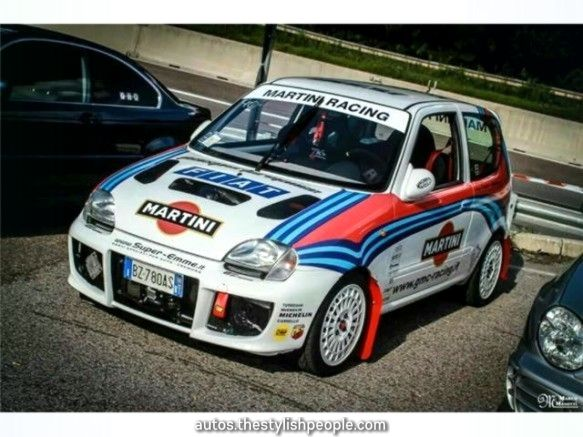 Sell Fiat Seicento Novitec Martini Duplicate Is Not A Toy Even A