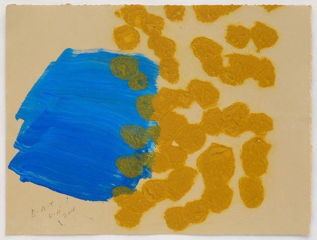 Howard Hodgkin   Beach (2015-2016)   Available for Sale   Artsy